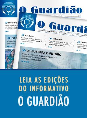Leia online as edições do informativo O Guardião
