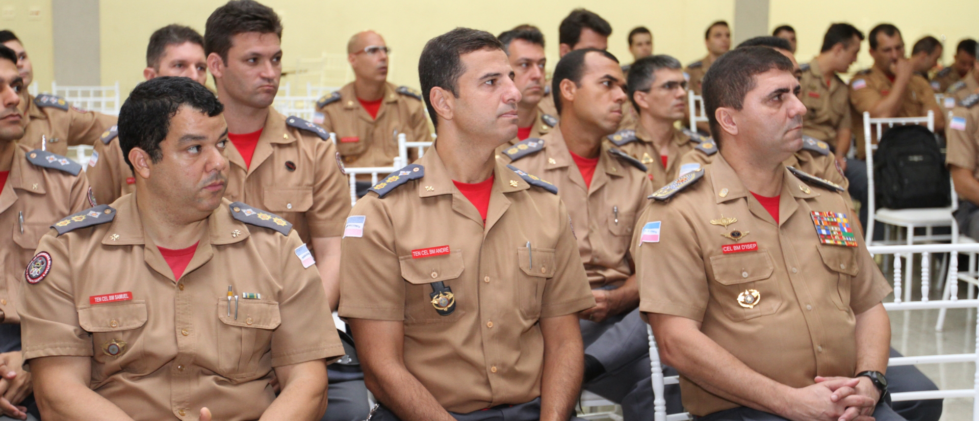Cerimonial Aspomires é palco de Seminário do Corpo de Bombeiros Militar do Estado do Espírito Santo