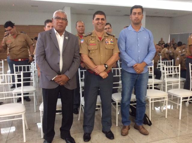 CHS do Corpo de Bombeiros Militar no Cerimonial Aspomires