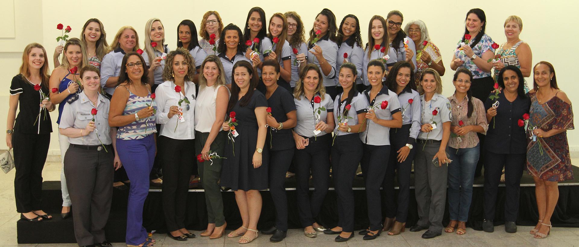 Aspomires homenageia colaboradoras e parceiras no Dia Internacional da Mulher