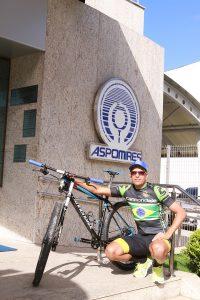 Aspomires patrocina ciclista militar em competição internacional